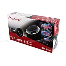 """Pioneer TS-G1645R 250W 6.5"""" 2-Way G-Series Coaxial Car door Speakers"""