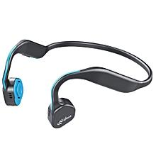 Vidonn F1 Wireless Bone Conduction Bluetooth Headset - BLUE