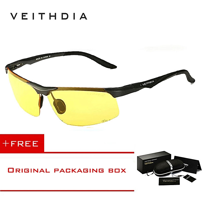 f5828f831e5b VEITHDIA Aluminum Magnesium Polarized Sunglasses Men Sports Sun Glasses  Night Driving Mirror Male Eyewear Accessories Goggle