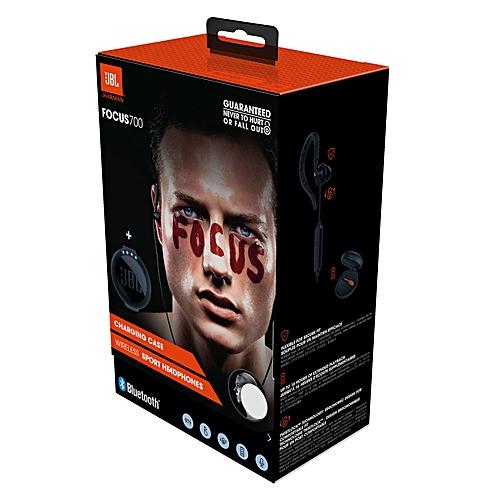 d421e93c605 JBL Focus 700 Wireless Sport In-Ear Headphones with Charging Case (Black)