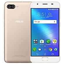 Zenfone 4 Max (Pegasus 4A) 5-inch (3GB, 32GB ROM) 4100mAh, Android 7.0, 13MP+5MP, Dual Sim 4G LTE Smartphone - Gold
