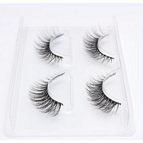 494ce7c1fdc Generic New 2/4/7 pairs natural false eyelashes fake lashes long makeup 3d  mink lashes eyeextension mink eyelashes for beauty 06(2 Pairs 763)
