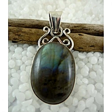 925'sterling Silver with Labradorite Gemstone Pendant