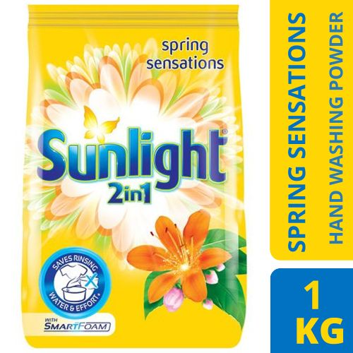 Spring Sensations (Yellow) Hand Washing Powder - 1kg