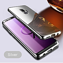 For Samsung Galaxy S9 Case 360 Full Protection Mirror Casing For Samsung S9 Cover +screen Protector Film 999249 (Silver)