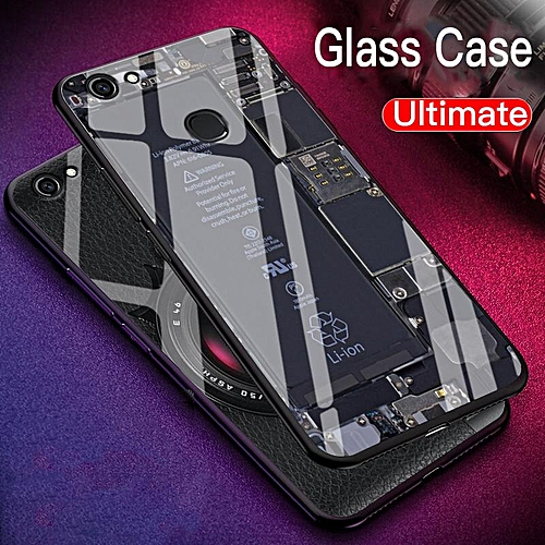 Exploratory Version Disassemble Glass Case for Vivo V7 Case Tempered Glass  Case Full Coverage Casing For VIVO V7 Plus Case (VIVO V7 Plus)