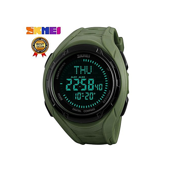 Digital Watches Skmei Outdoor Men Compass Sports Watches Hiking Led Electronic Digital Watch Man Chronograph Wristwatches Relogio Masculino Special Buy Watches
