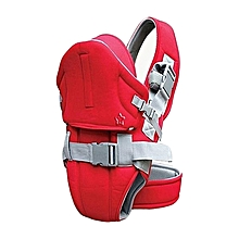 High quality and comfortable baby carrier with a hood-Red .
