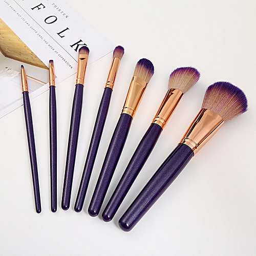 163aa0a88cff 7 makeup brush sets,beginner beauty dressing tools,makeup sets,brush  foundation brushes.