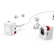 PowerUSB Portable - White