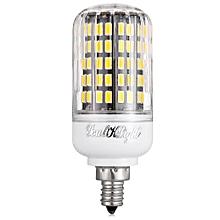 E12 10W 3000K 900Lm 5733 SMD Warm White 108 LEDs Corn Bulb AC 110 - 130V - WARM WHITE