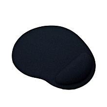 Ergonomic Mouse Pad with Wrist Support Soft EVA Mat for Laptop Desktop black