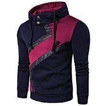 Men Long Sleeve Hoodie Sweatshirt Casual Slim Men'S Hoodie Sportswear NY/L-navy