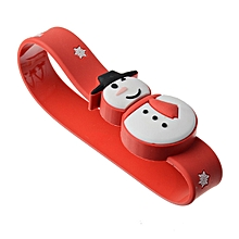 16G USB2.0 Christmas Snowman Wristband Shape USB Flash Drive