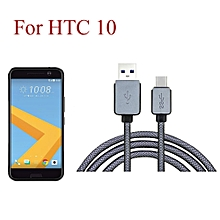 USB-C USB 3.1 Type C Male Data Charge Charging Cable for HTC 10-AS Shown