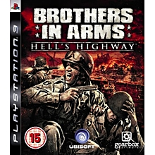 PS3 Game Brothers In Arms Hell's Highway.