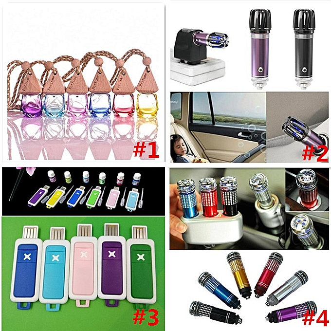 ... Car Air Purifier Oxygen Bar Ionizer Ozonator Mini Pro Smoke Remover Fresher ...