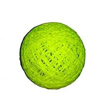 Decorative Yarn Balls - Luminous green