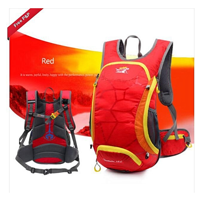 06d2b857cb9d97 15L Bicycle Cycling Rucksack Backpack Hydration Pack Helmet Water Bladder  Bag