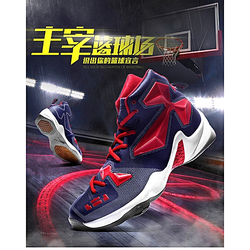 dcd692e804a Generic Spring Fashion Sports Shoes Couple Running Shoes Anti-skid and  Shock Absorbing Basketball Shoes
