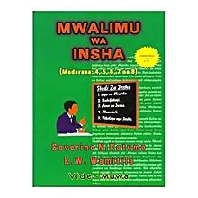 Mwalimu wa Insha (Madarasa 4- 8)