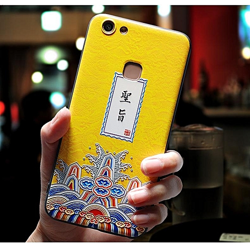 outlet store 52419 9ddd6 For Vivo V7 Plus Case Creative 3D Painting Texture Protective Cases  Anti-scratch Back Cover Phone Housing For Vivo V7 Plus Handphone Casing  277617 ...
