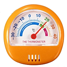 6.2CM Fridge Thermometer Refrigerator Freezer Indoor Outdoor Factory Thermograph Orange
