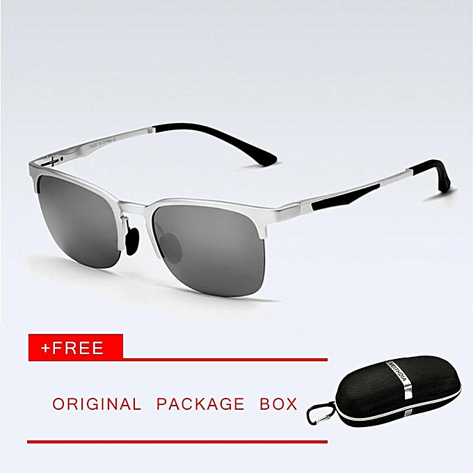 acbe7920ee VEITHDIA Unisex Retro Aluminum Magnesium Brand Sunglasses Polarized Lens  Vintage Eyewear Accessories Sun Glasses Men
