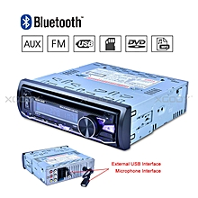 Car Stereo Radio Audio DVD CD Player MP3 1 DIN Bluetooth FM/AM/RDS USB SD AUX-IN