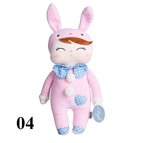 38ef5130013d Generic Lovely Metoo Plush Doll Baby Kids Angela Stuffed Toys Cartoon Rabbit  Sleeping Dolls For Girls - Pink