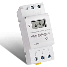 Microcomputer Electronic Programmable Digital TIMER SWITCH Time Relay Control # 110V