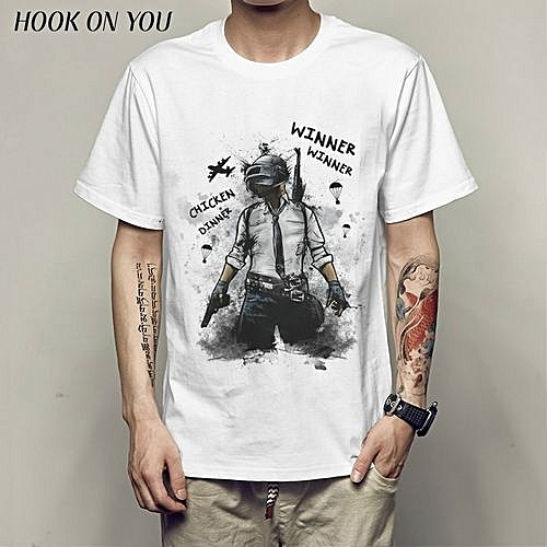 4b29d7c8 Generic Men T-Shirt PUBG PlayerUnknown Battlegrounds ONLINE GAME Punk Rock  Funny Long Sleeved Shirts Cotton Round Neck T Shirts Casual Summer @ Best  Price ...