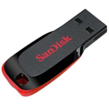 16GB Cruzer Blade Flash Drive - Black+Red