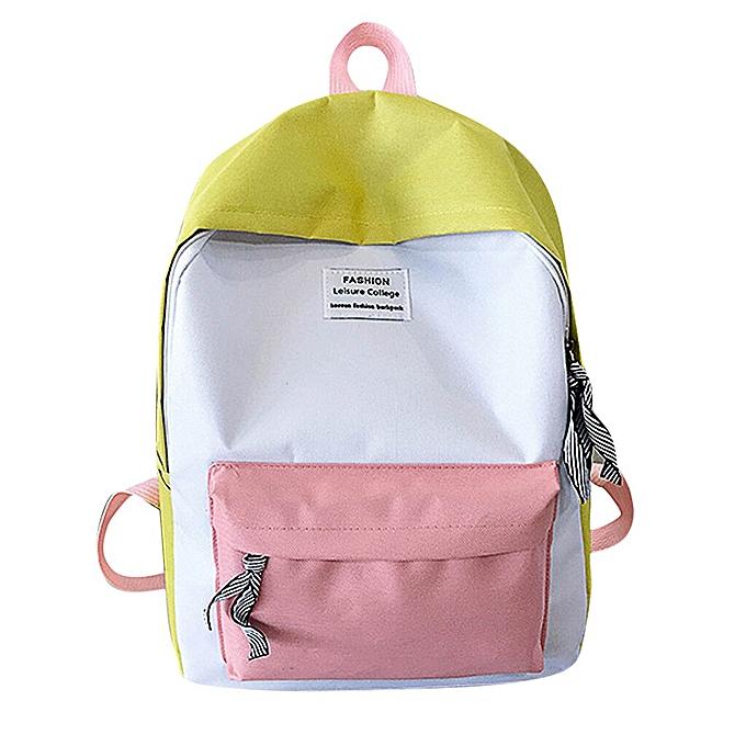 c739107084aa Generic fashion backpack woman backpack Schoolbag Travel Hiking Bag ...