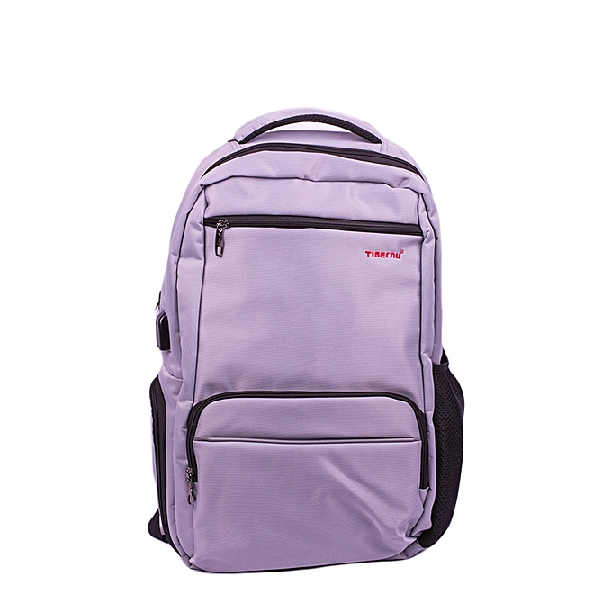 9156828b6d T-3319  2018 New Arrival Tigernu Anti Theft Backpack USB nylon laptop  backpack-