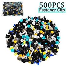 500PCS/Lot Car Fastener Cilps Mixed Universal Door Trim Panel Clip Auto Bumper