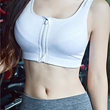 Women Sport Gym Yoga Workout Bra Running Padded Fitness Tops Vest-L