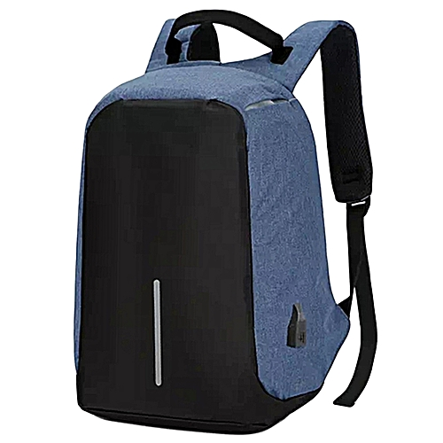 fd806eea7 Generic Multifunctional Travelling USB Backpack - Anti-theft - Blue ...