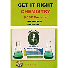 Get it Right Chemistry KCSE Revision