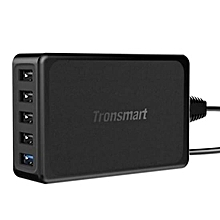 Tronsmart Quickcharge 3.0 5 Port-Usb Charger U5PTA (Black) QTG-W