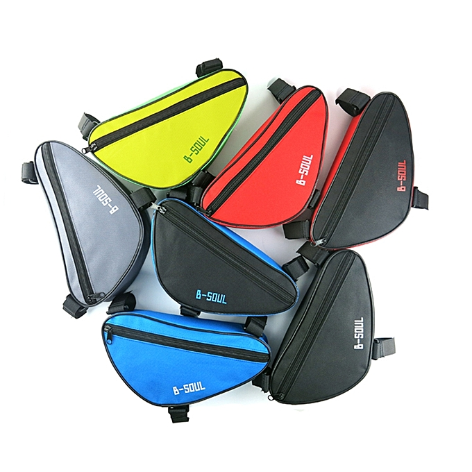 ca9c39b2c MTB Front Tube Bag Road Bike Triangle Bag Bike Pouch Pannier for Bicycle  Cycling