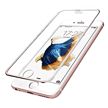 For Iphone 6s Plus 3D Premium Screen Protector Tempered Glass Protective Film -Rose Gold