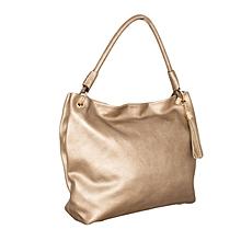 Gold Satchel Bag