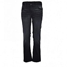 Black Straight Fit Boys Denim Jeans