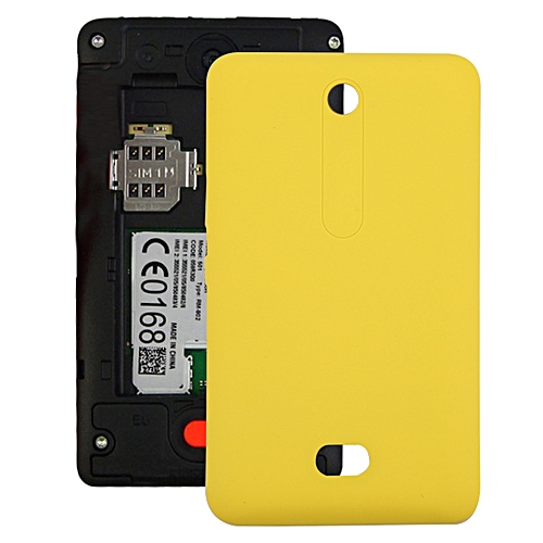 new product 9482a bf5c4 Battery Back Cover for Nokia Asha 501 (Yellow)
