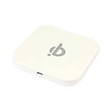 Qi Wireless Charger for Galaxy S5 S4 Note 3 USB-Port White-White