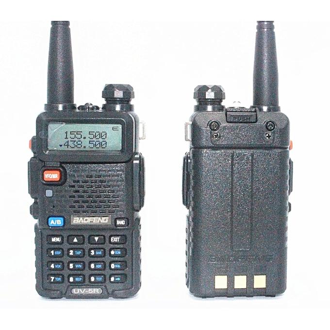 ... 2 SetsUV-5R Walkie Talkie Two Way Radio FM Transceiver +2PCS Battery Case + ...