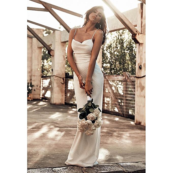 836eea4c25773 AFankara Sophie Evening Gowns - White @ Best Price | Jumia Kenya