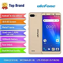 S1 Pro 5.5-inch (1GB, 16GB ROM) Android 8.1, 13MP&5MP, 3000mAh, Dual Sim 4G LTE Smartphone - Gold