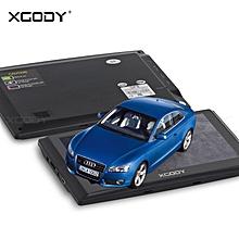 "XGODY 703 7"" Car Truck Navigator 128MB RAM SAT NAV 8GB ROM GPS Navigation 2017"